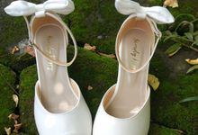 Simply Package Custom Wedding Shoes by Simply Happy