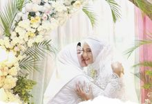 Backdrop Akad Nikah Indah & Fikri by Kalla Wedding Decor