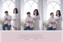 My today and All of my tomorrows ❤ by Gorgeous Bridal Jakarta