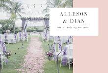 Purple Wedding by Marini Wedding Service