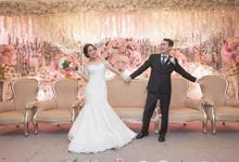 The Wedding reception from Alvina & Rico by D BRIDE