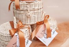 Custom Rattan Hampers by Rusticlatte