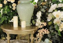 """TOUCH OF CELADON"" by FIORE & Co. Decoration"