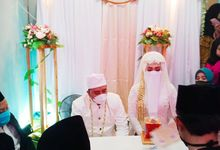 Wedding of Umar & Kiki by Kyukyu organzier