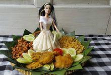 Bridal Tumpeng by Belanisa C&C