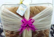Hias Bedcover Pita Simple by Kotak Seserahan Kita