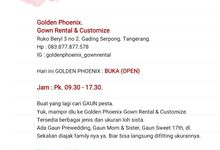 Today : OPEN ( 09.30 - 17.30) by Golden Phoenix Rent Gown