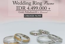Wedding Ring PROMO IDR 4.499.000/Pair by Clarity Jewellery