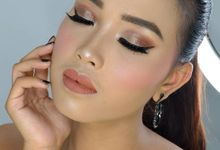 Makeup bold for wedding by Elysa Knia Makeup