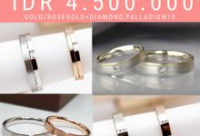 Wedding Ring PROMO IDR 4.500.000 by Clarity Jewellery