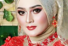 Wedding makeup by Cindy mozza