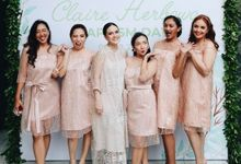 Shandy Aulia - Claire Baptism Day by Angela Karina