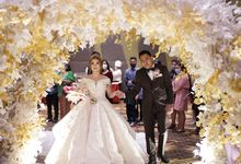 The Wedding of Lendy & Lisan by MarisaFe Bridal