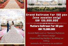 Holy Matrimony Or Akad Nikah Package by Bridget Wedding Planner