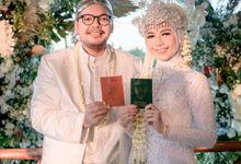 The Intimate Wedding Of Tia & Ranggi by Armadani Organizer