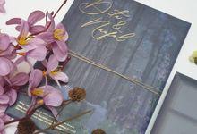 Lovie Purple Rustic by Invitation Papermint