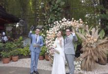 Alycia & Jiwa Wedding Day by HENRY BRILLIANTO