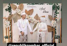 The Intimate Wedding Of April & Daru by Armadani Organizer