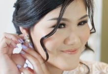 Makeup & Hairdo For Our Bride, Ariani.. by Favor Brides