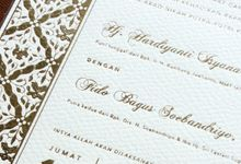 Isyana & Fido Akad Nikah by Vinas Invitation