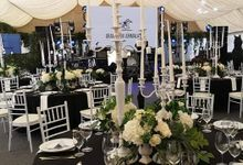 Black & White Horse Racing Grand Prix by 7 Sky Event Agency