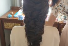Hair Styling for Ms. Laura by Virda Make Up Hairdo