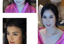 Tiesya & Trisnu Wedding by Virda Make Up Hairdo