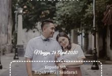 Hendra Pricilia Wedding Invitation by kondangankuyy
