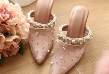 Wedding Shoes by D BRIDE