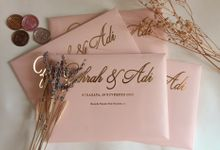 Peach And Gold - Zahrah & Adi by Studio Kata