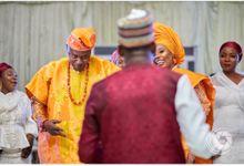 The beautiful wedding for Briamah and Amina held at the Re Carpet Events Centre. Mc's @amasahblankson & @abdukhayimoomen Bridal Make Up @best_of_fiya  by Amasah Blankson