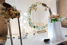 Holy Matrimony Vincent & Angel by Calysta Sangjit Decoration
