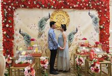 Sangjit Ivan & Ashley by Calysta Sangjit Decoration
