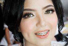Wedding Patrick and Fanny by Kezia Evelina Larisa Makeup Artist