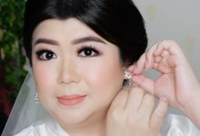 Wedding of Ci Fan by Kezia Evelina Larisa Makeup Artist