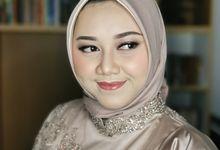 Engagement Makeup For Ms Cinitya by Febreen Makeup Studio