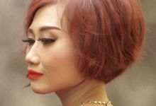 Wedding red by Syifa27-Makeupart