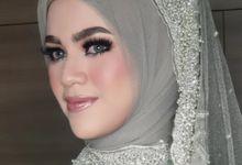 Bold makeup by Aisya Argubi