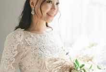 Bridal Makeup Look On Her Wedding Day by Izzy Makeup Artistry