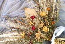 Wedding Dried Flowers by Odoroki Florist