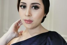 Glam Makeup For Ms Fionna by Febreen Makeup Studio