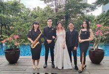 The Wedding of Charles & Rosalia by Reita Saxophone