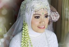 The Wedding of Harits & Indri by MarisaFe Bridal