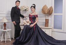 Prewedding Indoor Studio by AMEY CHAN SALON BRIDAL