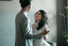 The Wedding of Levis & Sefa by MarisaFe Bridal