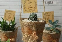 Wedding Of Chika & Gilang - Sukulen Goni Pita by Greenbelle Souvenir