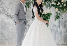 The Wedding of Tonny & Febe by MarisaFe Bridal