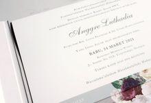 Anggre Añd Wahindra by Vinas Invitation