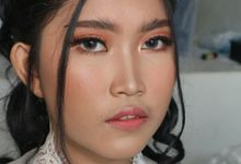 Holy Matrimony Wedding Makeup by Hana Gloria MUA