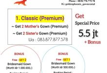 Promo APRIL 2021 by Golden Phoenix Rent Gown